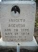Profile photo:  Aniclto Acevedo