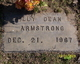 Profile photo:  Billy Dean Armstrong Jr.