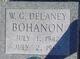 Profile photo:  W G Delaney Bohanon