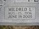 Mildred Louise <I>Davidson</I> Peel
