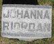 Johanna <I>Gould</I> Riordan