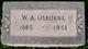 William Asbury Osborne
