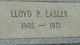 Lloyd P. Easler