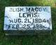 Profile photo:  Blish Macoy Lewis