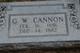 George Washington Cannon