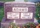 Profile photo:  Mamie L. <I>Hart</I> Adams