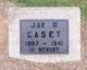 Profile photo:  Jay B. Casey