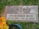 Nellie Mayes <I>Baker</I> Davis