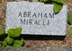 Profile photo:  Abraham Miracle
