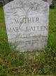 Profile photo:  Mary J. <I>Greenleaf</I> Allen