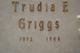 Trudia Estelene <I>Taylor</I> Griggs