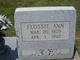 Flossie Ann <I>Russell</I> Faith