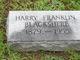 Profile photo:  Harry Franklin Blackshere