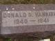 Donald Samuel Van Kirk