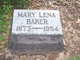 Profile photo:  Mary Lena <I>Bittick</I> Baker
