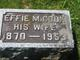 Effie M. <I>Cook</I> Baldwin