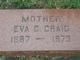 Eva Clara <I>Fitzpatrick</I> Craig