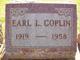 """Earl L """"Bud"""" Coplin"""
