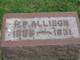 H. P. Allison