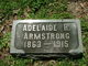 """Adalaide Ray """"Addie"""" <I>Butterfield</I> Armstrong"""