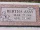 Bertha Asay