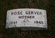 Rose <I>Brockoff</I> Gerver