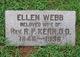 "Ellen ""Nellie"" <I>Webb</I> Kerr"