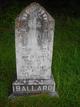 Profile photo: Mrs Ada Elvira Luckie <I>Sams</I> Ballard