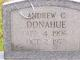 Profile photo:  Andrew C. Donahue