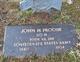 Pvt John Henry Procise