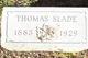 Thomas Slade