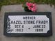 Hazel <I>Stone</I> Frady