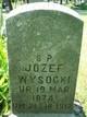 Joseph S <I>Wysocka</I> Wysocki