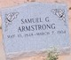 Profile photo:  Samuel G. Armstrong