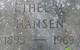 Ethyl <I>Ellefson</I> Hansen