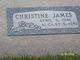 Profile photo:  Christine James