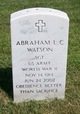 Profile photo:  Abraham Lincoln Columbus Watson