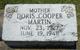 Doris Othelia <I>Cooper</I> Martin