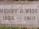 Henry Davidson Wise