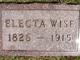 Electa Ann <I>Fairbanks</I> Wise