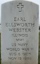 Earl Ellsworth Webster