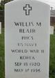 Willis M Blair