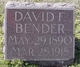 Profile photo:  David Frederick Bender