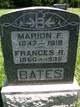 Frances R. <I>Ginter</I> Bates