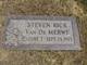 Steven Rick Van De Merwe