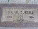 Delilah Opal <I>Clift</I> Bursell