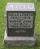 Sarah Jane <I>Reigle</I> Lenker