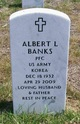 Profile photo:  Albert Lee Banks