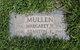 Margaret Sorita <I>Holmquist</I> Mullen