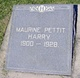 Profile photo:  Maurine <I>Pettit</I> Harry